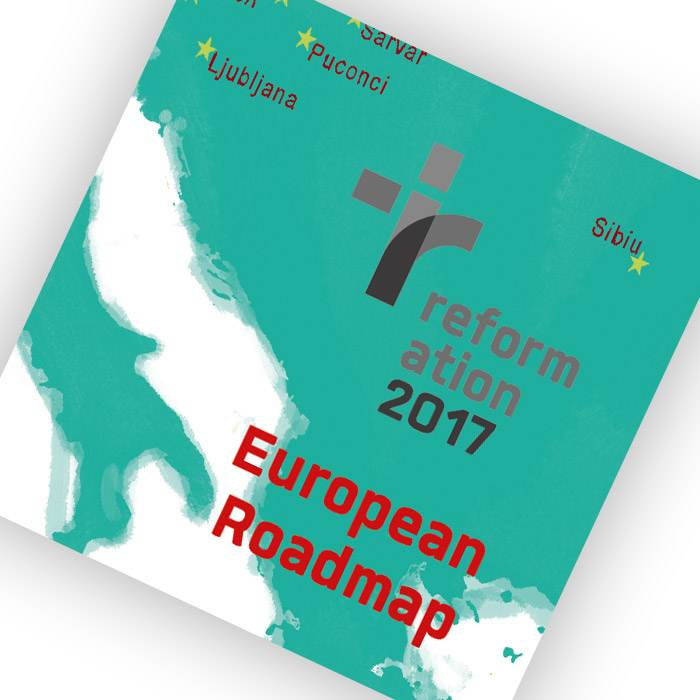 Folding map European Roadmap
